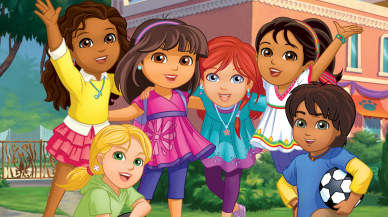 Dora ja ystävät